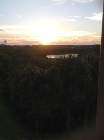 Natures Landing Condominium: Sunset from balcony