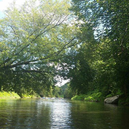 Potosi, WI: Relaxing trip down the Grant River, a couple rapids kept it fun. Great time.