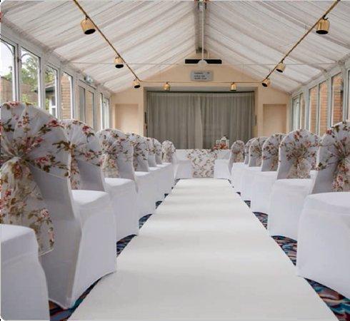 The Hog's Back Hotel & Spa Farnham: Wedding