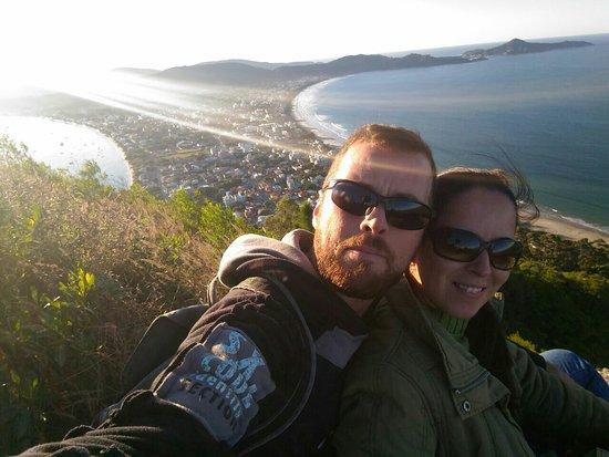 Morro do Macaco : Lugar magnífico, com uma vista deslumbrante da cidade de Bombinhas!