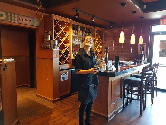 Surrey, Kanada: Meghan in the bar