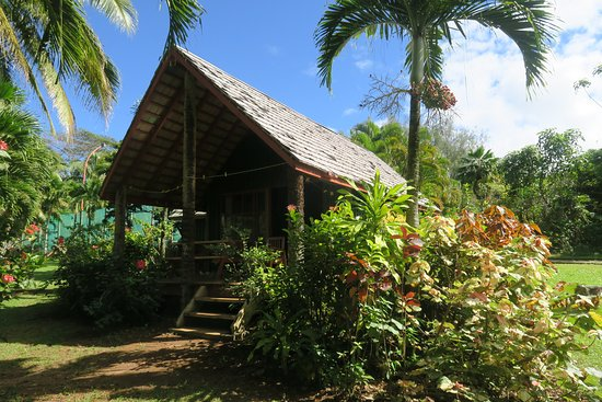 Atiu, Cook Eilanden: Family villa accommodates 5