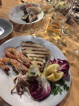 Il Ciliegio dell'Etna: Squisito anche il pesce! 10! Confermata la lode!