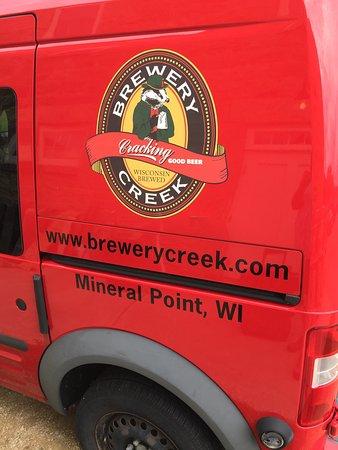 Mineral Point, WI: Brewery Creek Brewpub
