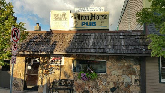 Iron Horse Pub in Downtown Durand