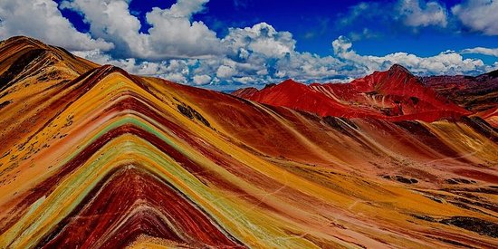 Cusco Region, Περού: Rainbow mountain vinicunca Peru