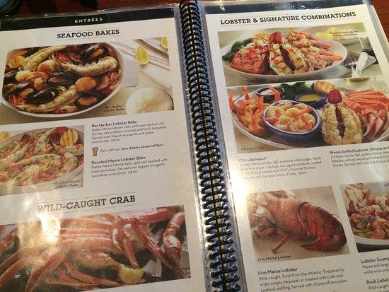 red lobster lancaster menu prices restaurant reviews. Black Bedroom Furniture Sets. Home Design Ideas