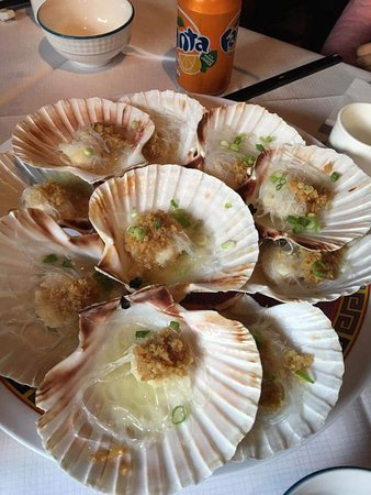 Joy Inn Restaurant : Steamed scallops