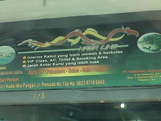 Pekanbaru, Indonesien: Naga Line