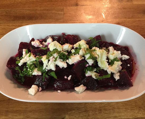 Ivanhoe, Australia: Beetroot salad