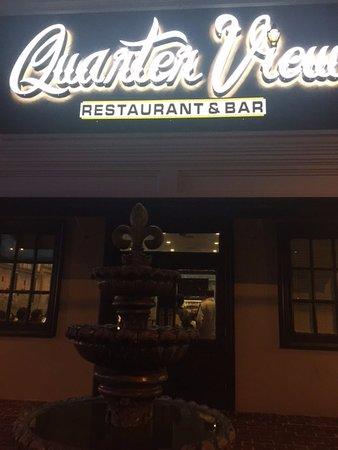 Quarter View Restaurant: the restaurant