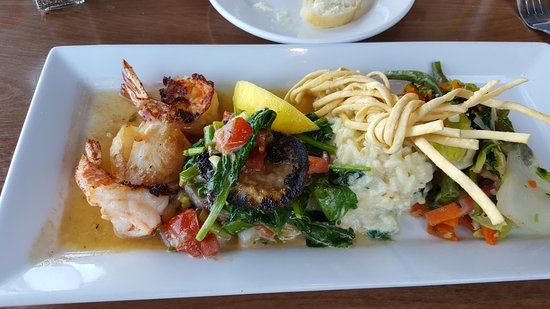 Abalone, Shrimp and Scallops - Picture of Scales Seafood and