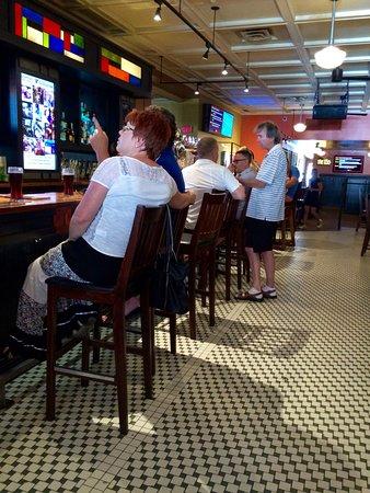 Bentleys Bar Inn & Restaurant : The congenial bar area.