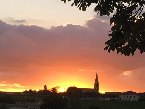 Another sunset over Saussignac