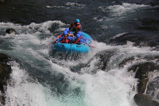 White Salmon, واشنطن: Husum falls was a blast!