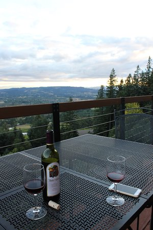 Chehalem Ridge Bed and Breakfast: Definitely a place to relax and watch the sun as it sets