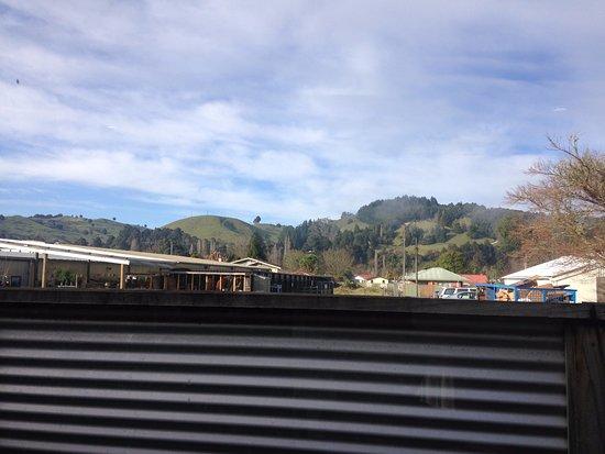 Taumarunui, Nya Zeeland: View from kitchen