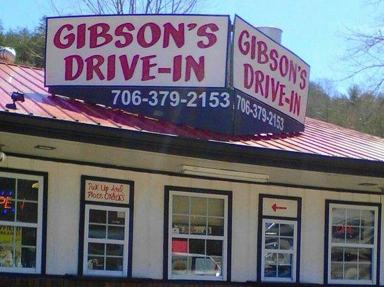 ยังฮาร์ริส, จอร์เจีย: Gibson's Drive-In
