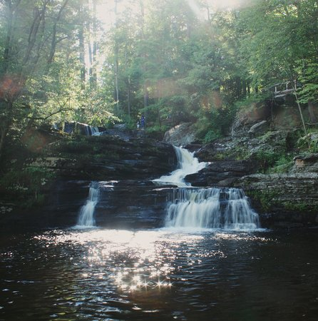Dingmans Ferry, Pensilvanya: one of my favorite parks. it has so many stunning water falls! it is almost impossible to not fa