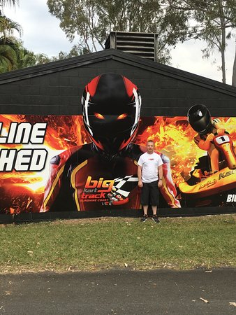 Landsborough, Australien: Entrance to track