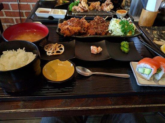 Musashi Japanese Cuisine : Chicken Miso Katsu Zen