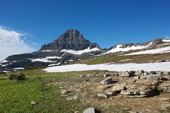 West Glacier, MT: Great views! Hiking poles helped!