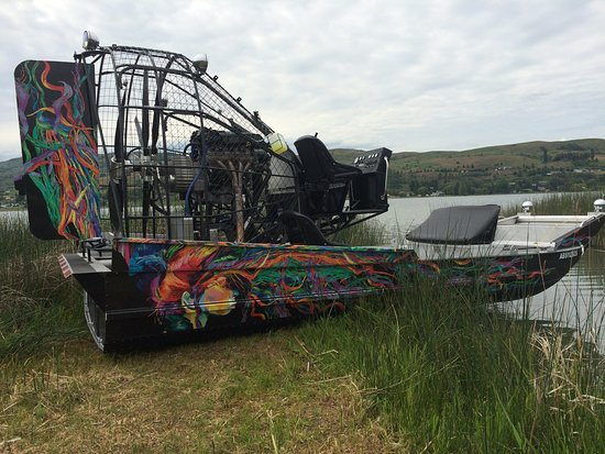 Vernon, Canada: Bucket list #13 - an airboat ride!