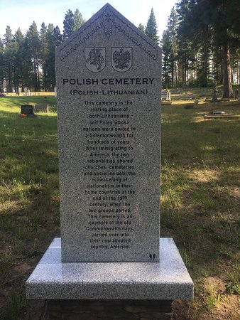 Roslyn historical cemeteries in Roslyn, Washington