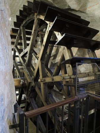 Waterwheel underground - Picture of Pilsen, Pilsen Region