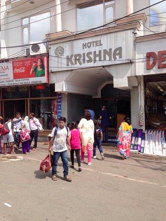 Hotel Krishna: A nice budget hotel at Katra Chawk .