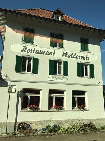 Uitikon, Suíça: Restaurant Waldesruh