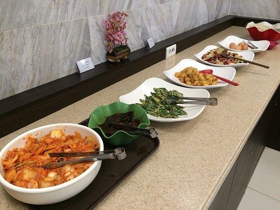 โตโยโกอินน์ปูซาน ซมยอน: 朝食