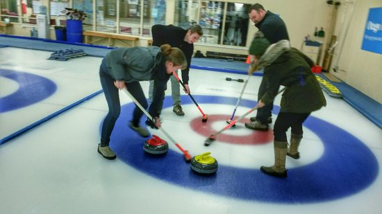 Indoor Curling Rink