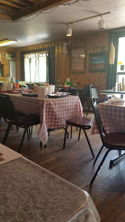 Cotopaxi, CO: The dining room after everyone left.