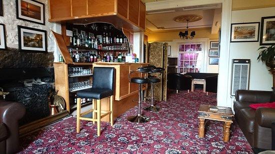 Castlebank Hotel: Hotel bar