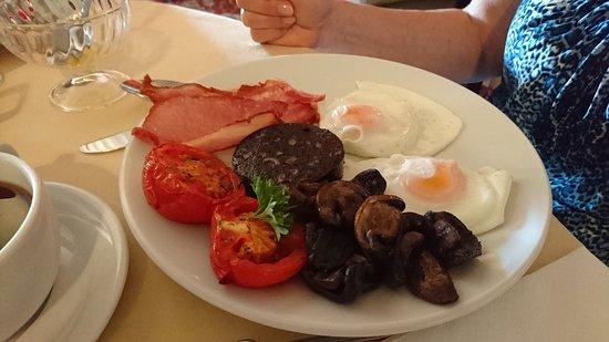 Castlebank Hotel: Cooked breakfast
