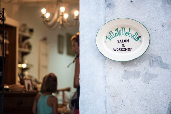 Korcula Island, Croatia: Villa Villekulla salon & workshop