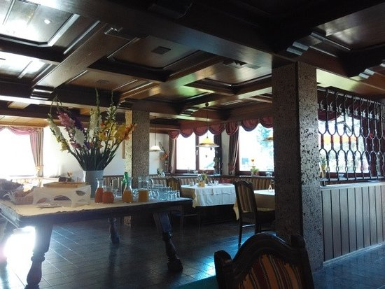 Parte della sala Hotel Berghof