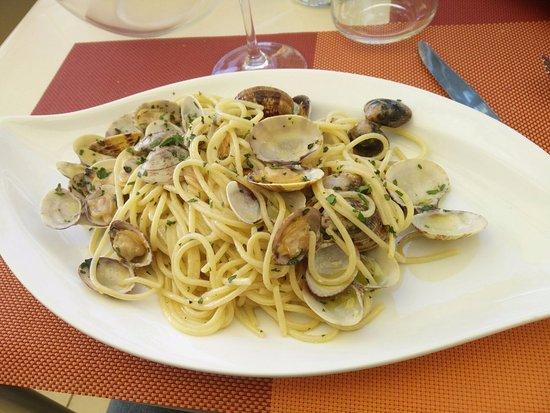 Locanda Navene: Spaghetti alle vongole