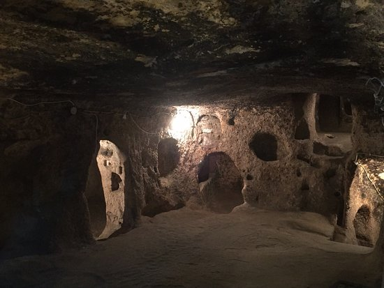 Casa della cità sotterranea - Picture of Kaymakli ...