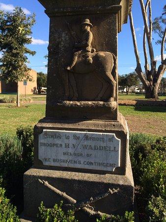 Singleton, Australien: Memorial in Burdekin Park