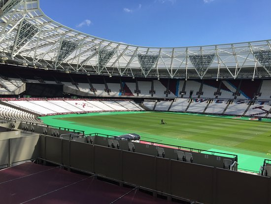 Pictures from the first day of the tours for the new West Ham London Stadium