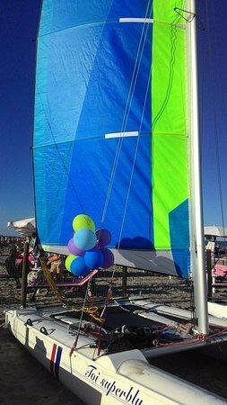 Lido delle Nazioni, Itália: Compleanno in Catamarano