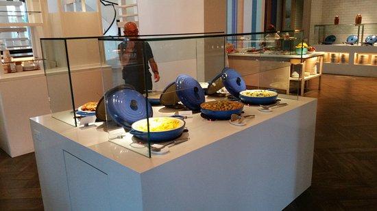 Breakfast Food On Display