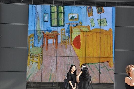 Een idee van het interieur picture of van gogh museum amsterdam
