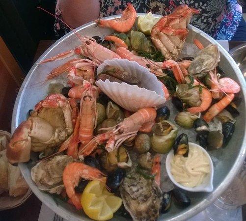 Le Nicol's: plateau fruits de mer à 35 €
