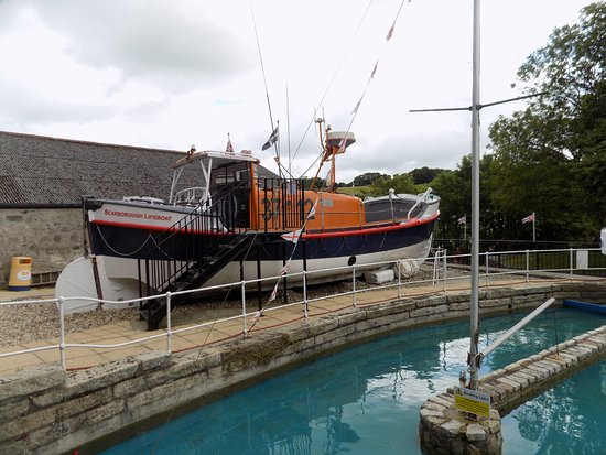 St Austell, UK: Lifeboat and radio controlled boat lake