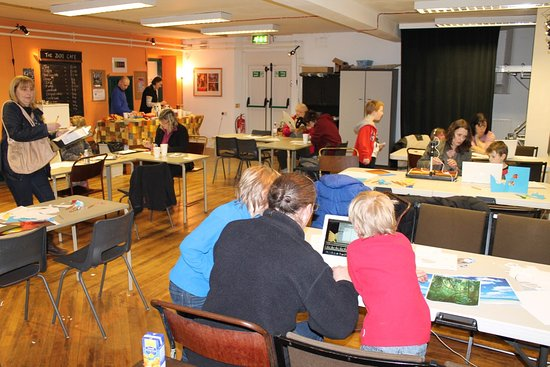 Rossendale, UK: The studio space at The Boo