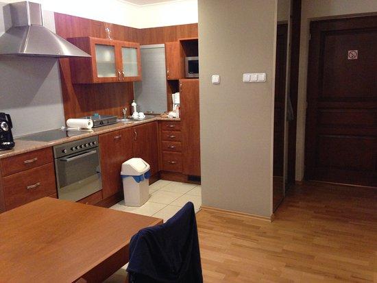 Sodispar Serviced Apartments: Cocina
