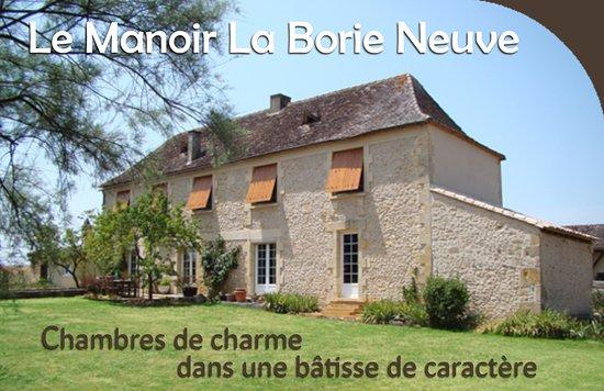 Saint-Avit-Senieur, Francia: Le Manoir La Borie Neuve
